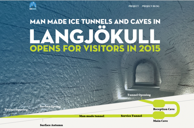 Ice Tunnel to Open Next Year