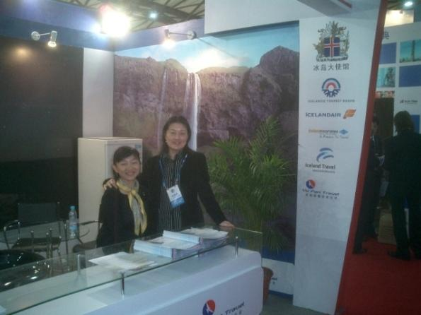 Íslandsáhugi á China International Travel Mart